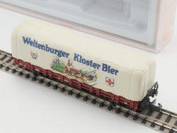 Arnold 4470 Rungenwagen Plane Weltenburger Kloster Bier TOP! OVP