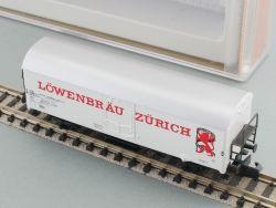 Arnold 4566 Bierwagen Kühlwagen Löwenbräu Zürich SBB wie NEU OVP