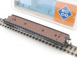Roco 2353 Flachwagen SSkm 47 Rlmmp DB Spur N kleiner Defekt OVP