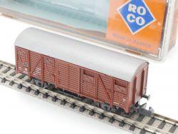Roco 02329 C Gedeckter Güterwagen Gs SNCF Spur N wie NEU! OVP