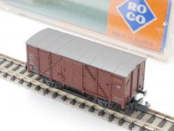 Roco 2323 A Gedeckter Güterwagen G10 Ep.III DB Spur N  OVP ST