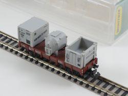 Minitrix 51 3565 00 Behälterwagen Von Haus zu Haus DB Spur N OVP