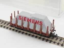 Minitrix 51 3266 00 Rungenwagen Siemens Plane DB Spur N OVP