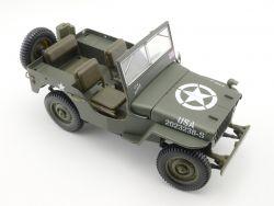 Solido 8075 US Army Jeep Willys Militär 1:18 Kleinigkeiten für Bastler