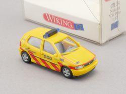 Wiking 07104 VW Volkswagen Polo Notarzt GGD Niederlande NEU! OVP