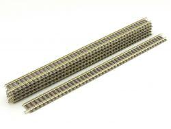 Fleischmann 6x 9100 piccolo Gerades Gleis 222 mm Gerade TOP