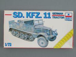 ESCI 8348 Sd.KFZ.11 German Traktor Wehrmacht Halbkette 1:72 OVP