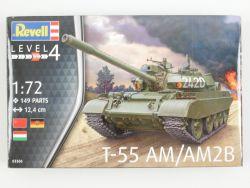 Revell 03306 T-55 AM/AM2B Kampfpanzer KIT 1:72 NEU! OVP