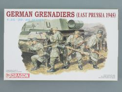 Dragon 6057 German Grenadiers East Prussia 1945 KIT 1:35 OVP