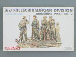 Dragon 6143 3rd Fallschirmjäger Division Ardennen 1944 Part 2 OVP