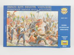 Zvezda 8042 French Elite Infantry Voltigeurs 1805-1813 Figur OVP
