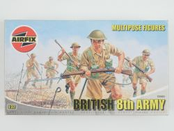 Airfix 03580 British 8th Army Mulipose Figures KIT 1:32 TOP OVP