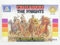 Italeri 6853 Crusaders The Knights XIth Century Figuren Lesen OVP