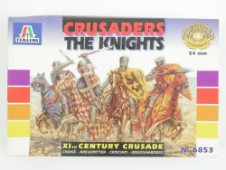 Italeri 6853 Crusaders The Knights XIth Century Figuren NEU OVP