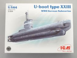 ICM S.004  U-Boot Type XXIII WWII German Submarine KIT 1:144 OVP