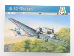 Italeri 1265 JU-52 Toucan Tante Ju Junkers Bausatz 1:72 NEU! OVP