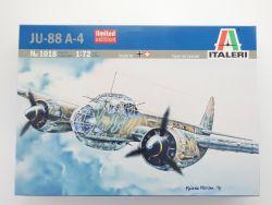 Italeri 1018 JU-88 A-4 Junkers Nachtjäger Bomber 1:72 TOP! OVP