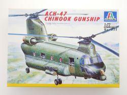 Italeri ACH-47 Chinook Gunship Hubschrauber Vietnam 1:72 NEU OVP