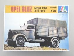 Italeri 216 Opel Blitz German Truck 3t Type S KIT 1:35 TOP OVP