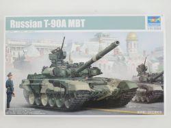 Trumpeter 05562 Russian T-90A  MBT Kampfpanzer 1:35 Kit NEU! OVP