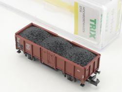 Minitrix 15194-40 Hochbordwagen Omm 46 Kohle Ladegut NEU! OVP ST