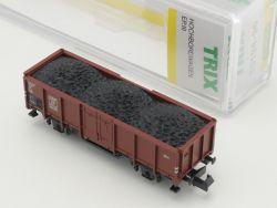 Minitrix 15194-36 Hochbordwagen Omm 46 Kohle Ladegut NEU! OVP