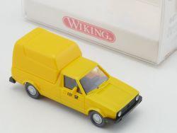 Wiking 0470114 VW Caddy Postdienst Modellauto 1:87 NEU! OVP