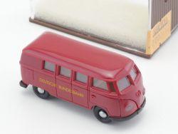 Brekina 3113 VW T1 Bus Deutsche Bundesbahn DB Modellauto NEU OVP