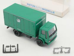 Rietze 60124 Ford Cargo LKW Polizei Pferdetransport 1:87 NEU OVP