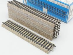 Märklin 5106 10x Gerades M-Gleis Metallgleis Gerade TOP! OVP ST