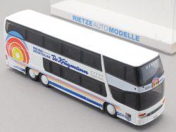 Rietze 60284 Setra Dr. Krugmann Reisen Erlangen Bus H0 NEU OVP SG