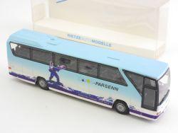 Rietze 61277 RM MB O 350 Davos Parsenn Schweiz Reisebus 1:87 OVP