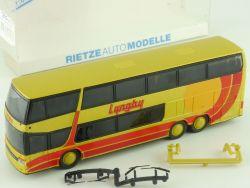 Rietze 60253 Setra S 328 DT Lyngby Dänemark DK Reisebus RAR OVP