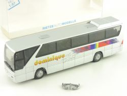 Rietze 64907 MB Autocars Dominique Reisebus Buc France selten! OVP