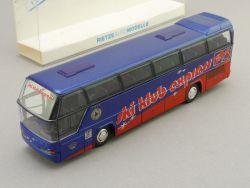 Rietze 61011 Neoplan Bus Ski Klub Express Bayer Uerdingen TOP! OVP