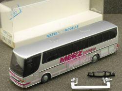 Rietze 64111 Setra S 315 HD Merz Reisen Reisebus Gnadenberg OVP