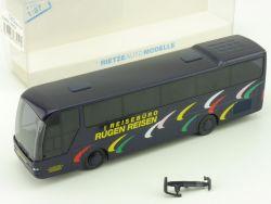 Rietze 63419 Neoplan Euroliner Reisebüro Rügen Bus Bergen  OVP
