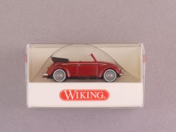 Wiking 7940126 Volkswagen VW Käfer Cabrio rot Beetle NEU! OVP