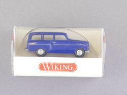 Wiking 8500124 Opel Caravan 56 1956 blau Rekord PKW 1:87 NEU OVP