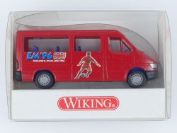 Wiking 2810226 MB Sprinter Kombiwagen Fussball EM 1996 NEU OVP