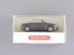 Wiking 1310227 Audi TT Roadster Cabrio dunkelgrau 1:87 NEU! OVP