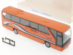 Rietze 61263 MB O 350 Caravan Tours of Egypt Reisebus selten OVP