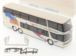 Rietze Setra S 328 DT IDEAL Reisebus Kreuztal Sondermodell TOP! OVP