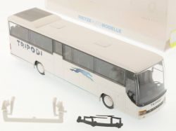 Rietze 64127 Setra S 315 GT-HD Tripodi Reisebus Italien Lesen OVP