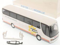 Rietze Setra S 315 HDH Fröhlich Reisen Bus Werbemodell TOP! OVP