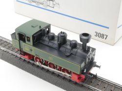 Märklin 3087 Dampflokomotive Tenderlok KLVM Länderbahn TOP! OVP