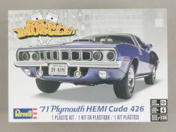 Revell 85-2943 71' Plymouth HEMI Cuda 426 Muscle CAR 1:24 NEU OVP