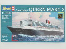 Revell 05808 Queen Mary 2 Ocean Liner Bausatz 1:1200 NEU OVP