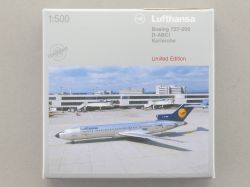 Herpa 503150 Boeing 727-200 D-ABCI Lufthansa limited Edition OVP