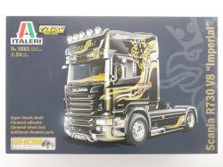 Italeri 3883 Scania R730 V8 Imperial Truck LKW KIT 1:24 TOP! OVP